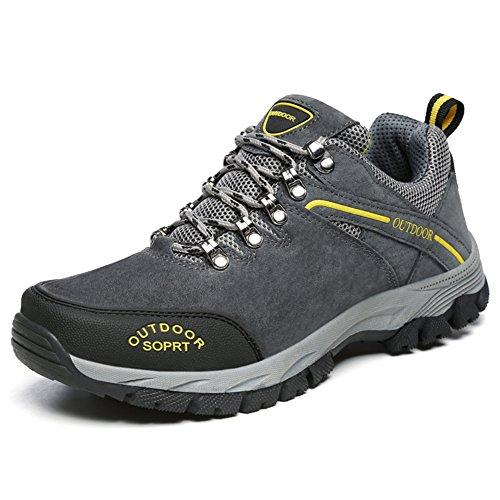 JOYTO Wanderschuhe Herren Trekking Hiking Sports Outdoor Rutschfeste Outdoor Traillaufschuhe Armeegrün 48 YtxxqZ