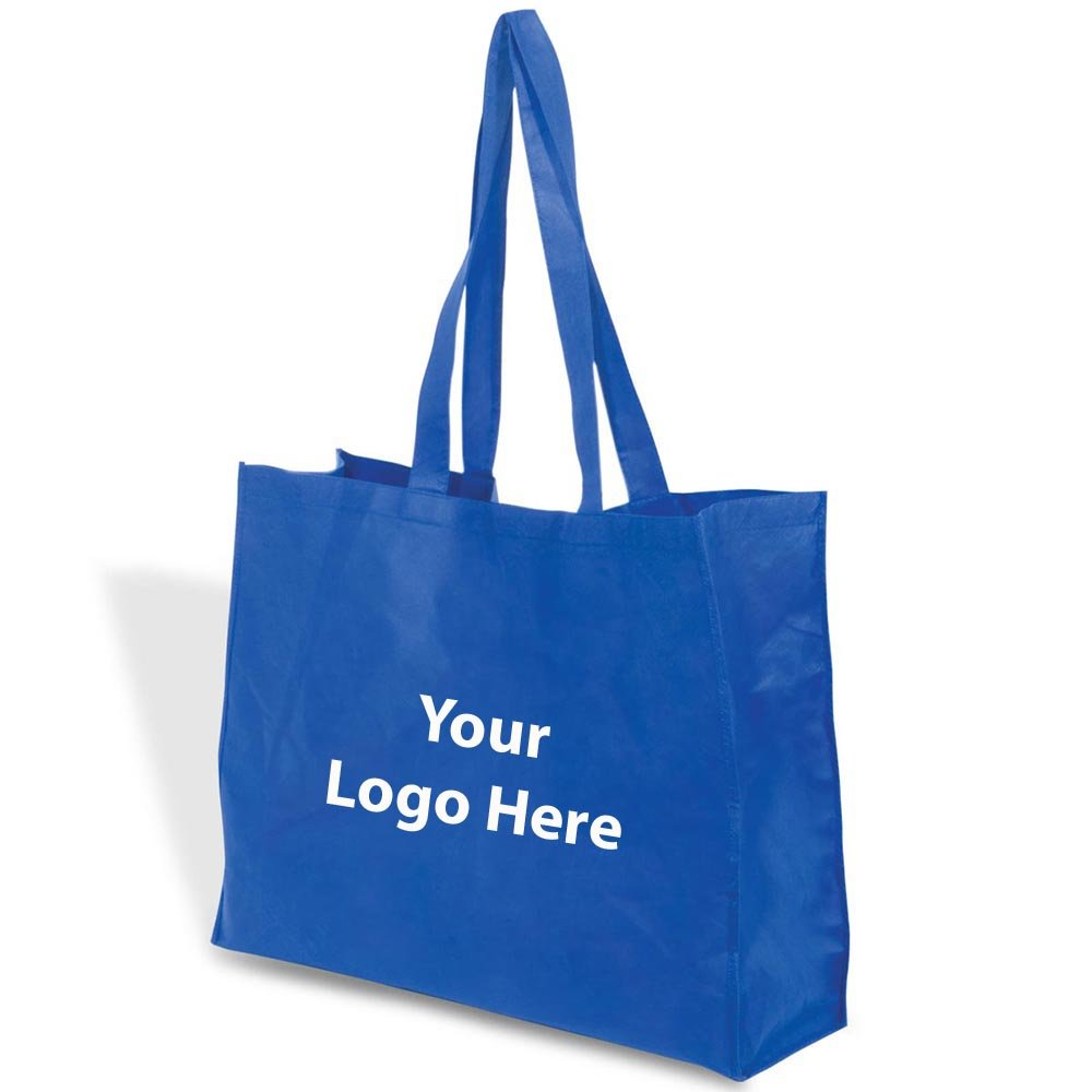 Mega Show Tote - 100 Quantity - $1.85 Each - PROMOTIONAL PRODUCT / BULK / Branded with YOUR LOGO / CUSTOMIZED by Sunrise Identity (Image #1)