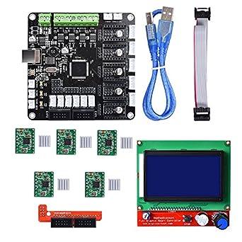 Amazon.com: BIQU KFB3.0 - Placa de control 3D + LCD 12864 ...