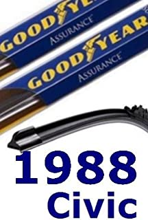 product image for 1988 Honda Civic Replacement Windshield Wiper (3 Blades)