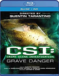 "CSI: Crime Scene Investigation - ""Grave Danger"" (Two-disc Blu-ray/DVD Combo)"