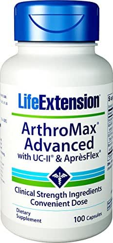 Life Extension Arthromax Advanced with UC-II and Apresflex Capsules, 100 Count