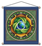 30″ x 30″ Mandala Arts Temple Banner Conservation