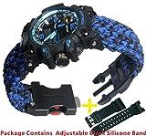 Blue Survival Bracelet Watch