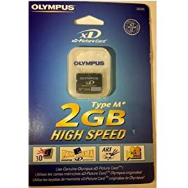 Olympus xD-Picture Card M+ 2 GB High Speed M-XD2GMP 202425 97 xD-Picture Card M+ 2 GB Flash Memory Card 202425 Reusable & Removable 1.5x faster than type M