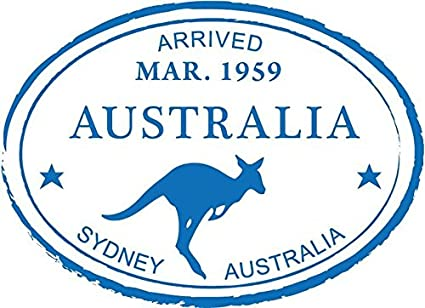 Amazon Zirni Sydney Australia Kangaroo Travel Retro Adventure