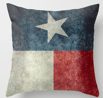 Alexander Luxuy Printing Texas State Flag Vertical Retro Vintage Inspired Home Throw Pillowcase Comfort Nice Pillow Sham 18x18inch