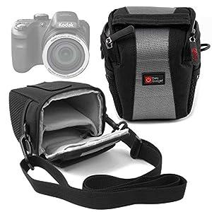 Shock-Absorbing, Water-Resistant Cross-Body / Shoulder Bag for the Kodak PixPro AZ401 - by DURAGADGET