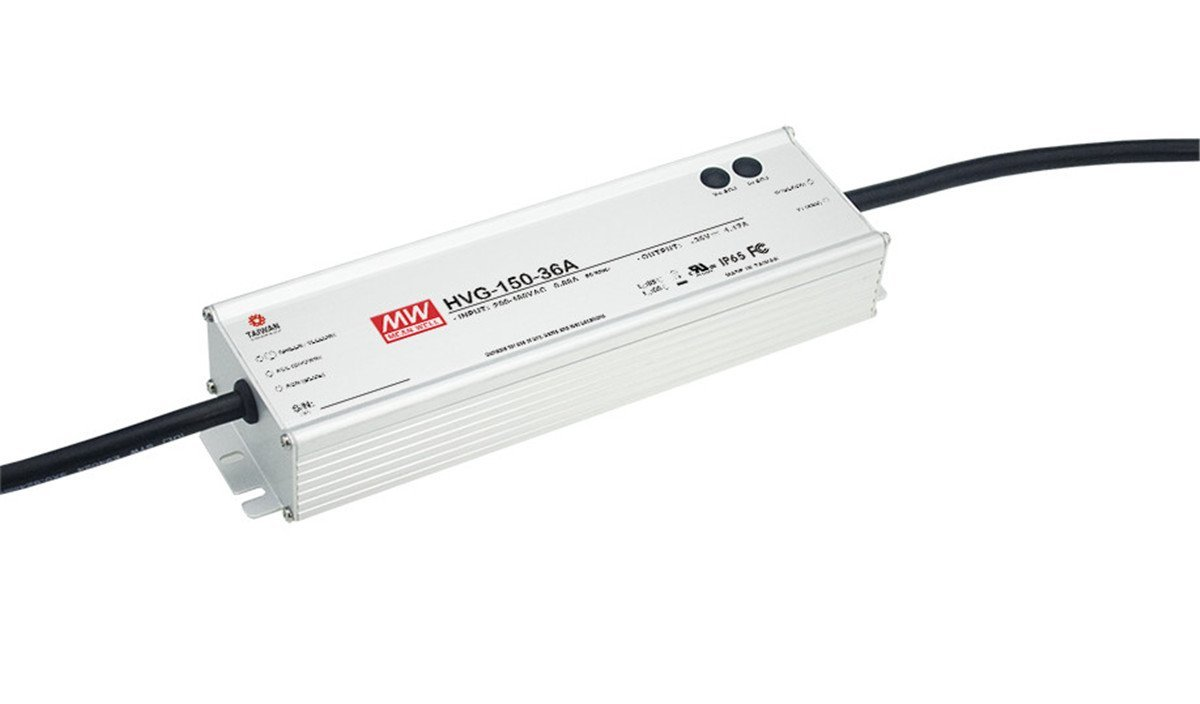 MW Mean Well Original HVG-150-42B 42V 3.5A 150W Single Output LED Switching Power Supply