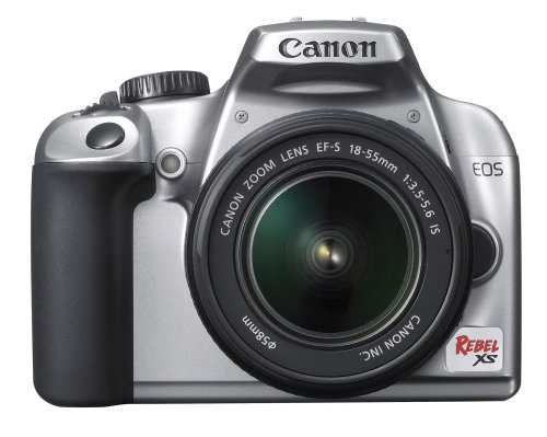 10.1 Mp Dslr Camera - Canon Rebel XS 10.1MP Digital SLR Camera with EF-S 18-55mm f/3.5-5.6 IS Lens (Silver)