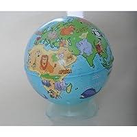 Gürbüz Yayınları 43103 Globe Bank Hayvanlı Küre 10 Cm