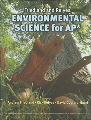 Friedland and Relyea Environmental Science for AP*: Andrew ...