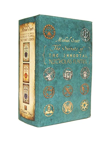 The Secrets of the Immortal Nicholas Flamel Boxed Set (3-Book)