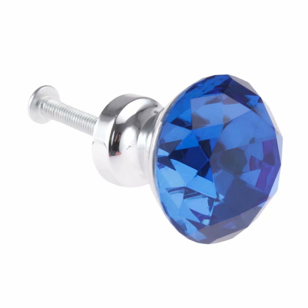 Checkroom lot de 12/pcs Firstdecor Cristal en verre acrylique D/écoupe Diamant Boutons//poign/ées///à partir pour armoires de cuisine Rouge commode armoire armoire placard tiroir