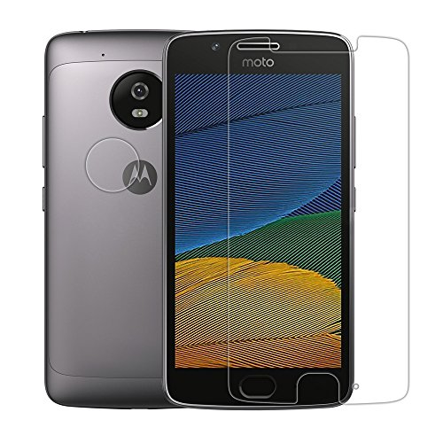 Moto G5 Plus Screen Protector, Mangix [2 Pack]Tempered Glass Screen Protector