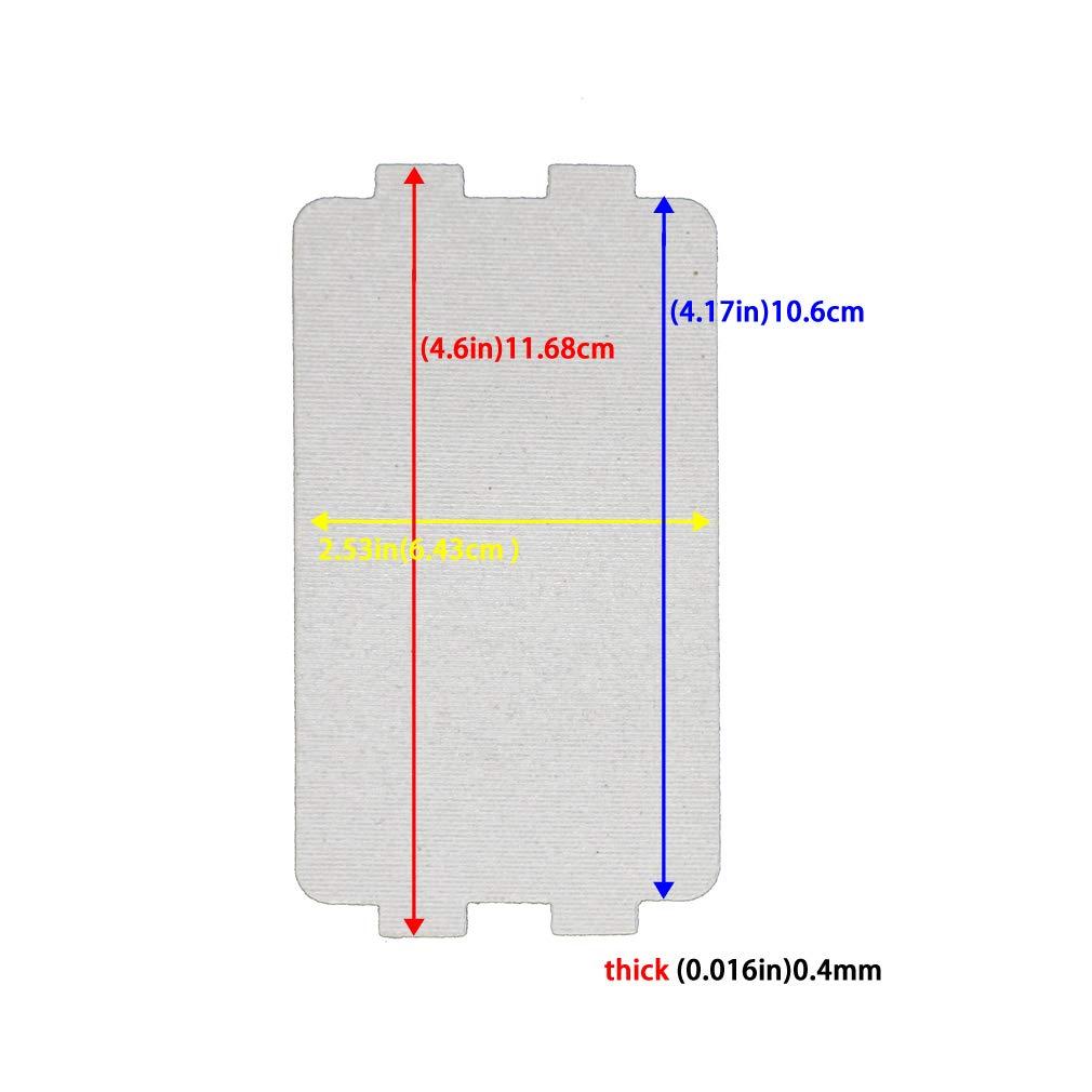Amazon.com: 2 piezas de microondas horno mica hoja MM721NH1 ...