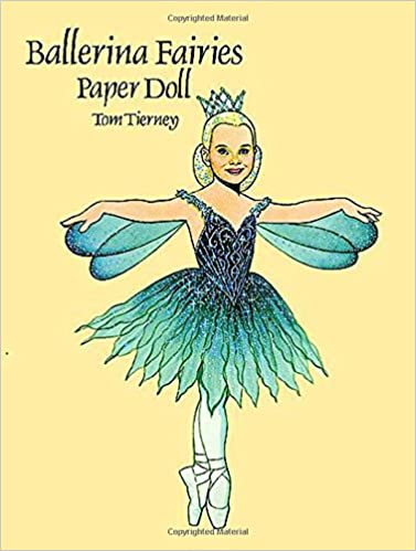 diana the ballerina paper doll dover paper dolls
