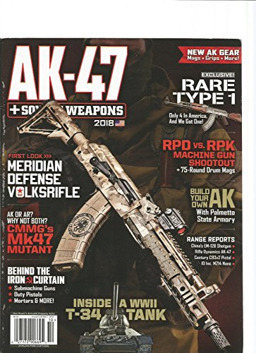Review GUNS BUYER'S ANNUAL #210 MAGAZINE 2018 THE AK- 47 & SOVIET WEAPONS