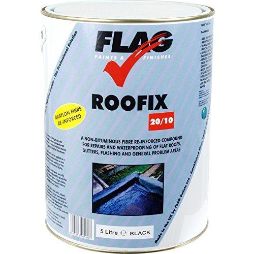 Roofix 20/10 Black 5L flag