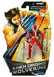 X-Men Origins Wolverine Comic Series 3 3/4 Inch Action Figure Deadpool by X-Men Wolverine