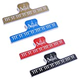PUNK Piano Keyboard Book Page Clip Music Sheet Folder 4 Colors (3A)