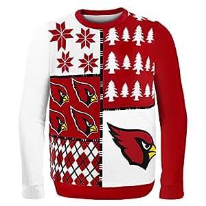 Arizona Cardinals Busy Block Ugly Sweater Medium