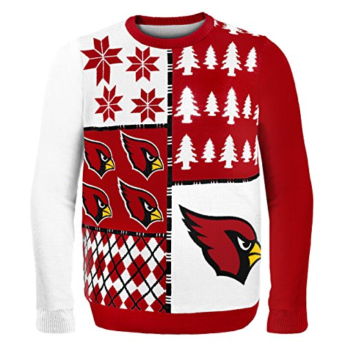 - Arizona Cardinals Busy Block Ugly Sweater Extra Large