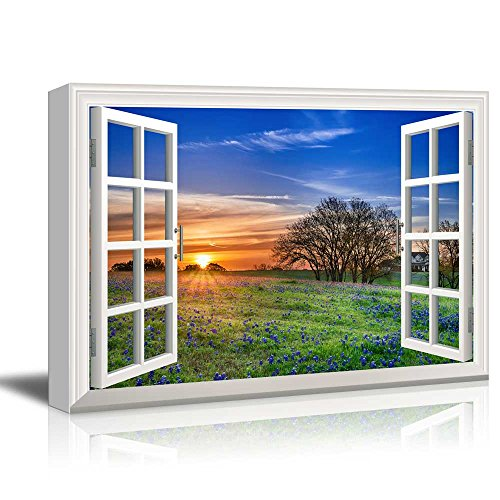 Creative Window View Sunrise on a Springfield