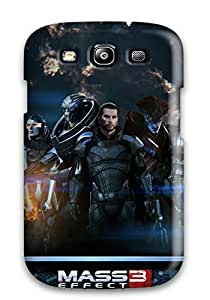 New Mass Effect 3 Extended Cut Tpu Case Cover, Anti-scratch CaseyKBrown Phone Case For Galaxy S3