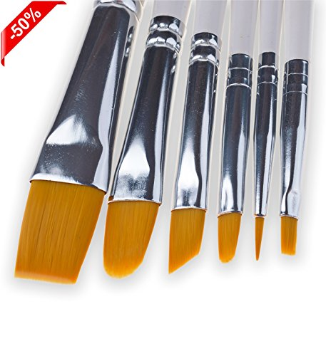 Art Paint Brush Set for Watercolor Acrylic Oil and Face Pain