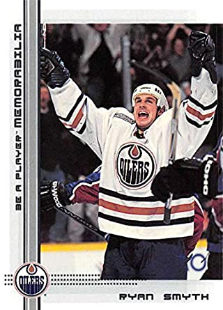 968f73ff8 2000-01 Be A Player Memorablia Hockey  113 Ryan Smyth Edmonton Oilers  Official Trading