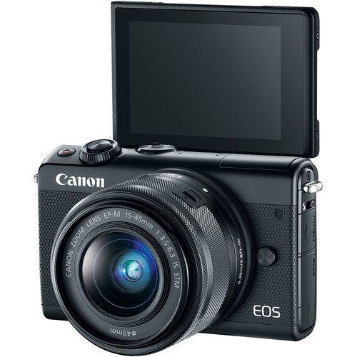 Canon EOS Digital Camera Canon EF-M 15-45mm is Lens, SanDisk 32GB + Accessory