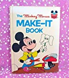 The Mickey Mouse Make-It Book, Walt Disney Productions Staff, 0394925556