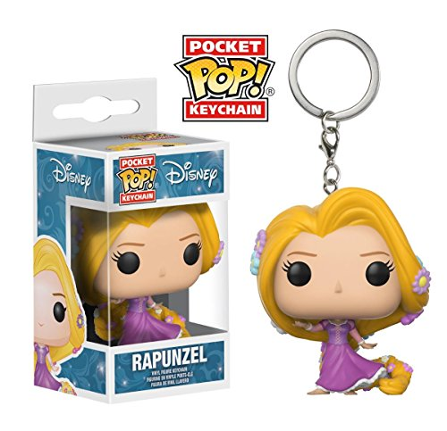 Chaveiro Pocket Pop! Funko Rapunzel - Disney