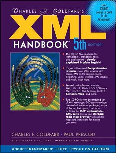 Charles F.Goldfarbs XML Handbook (Charles F. Goldfarb Definitive XML Series)