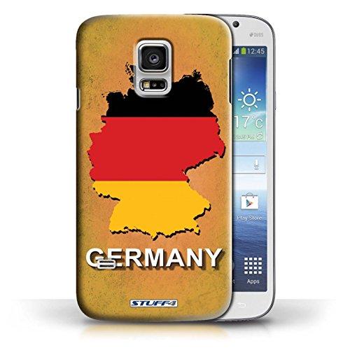 Kobalt® Imprimé Etui / Coque pour Samsung Galaxy S5 Mini / Allemagne/Allemand conception / Série Drapeau Pays