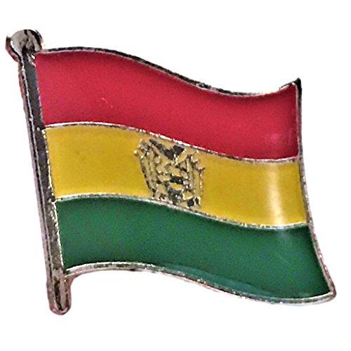 Backwoods Barnaby Bolivia Flag Pin (0.75