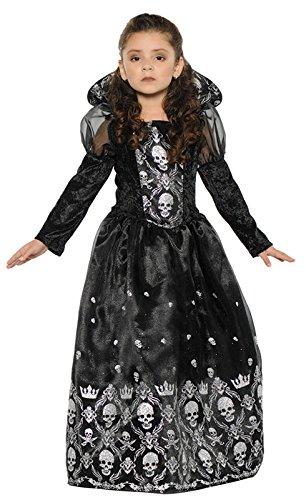 Little Girls Dark Princess Costume (Dark Princess Costume)