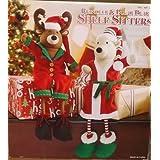 Reindeer & Polar Bear Shelf Sitters