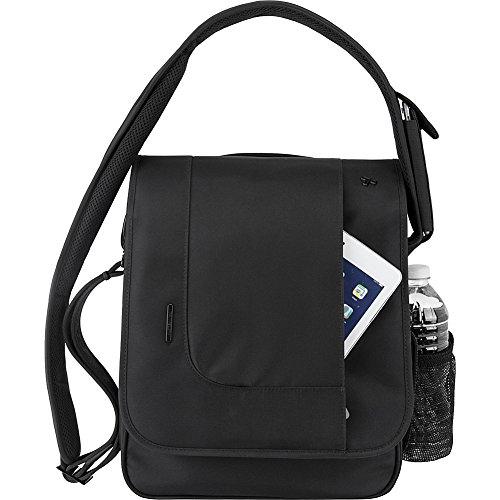 Travelon Anti-Theft Urban North South Messenger Bag, Blac...