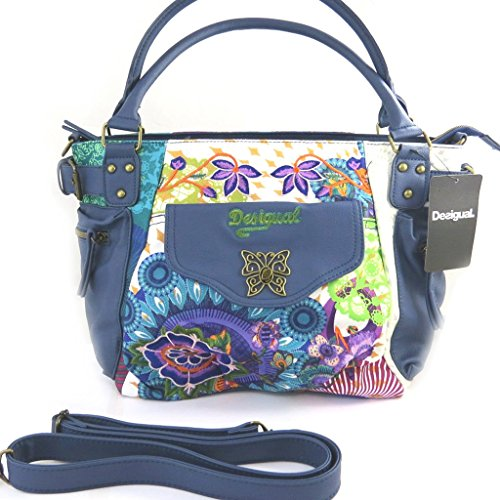 'french touch' bag 'Desigual'blue multicoloured.