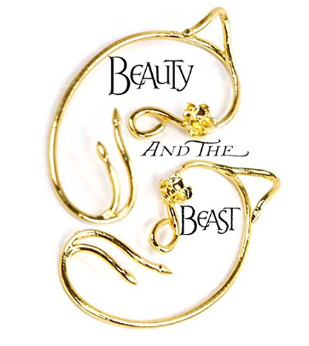 BlingSoul Belle Ear Cuff Beauty and The Beast Costume Cosplay Collection for (Easy Adventure Time Costumes)