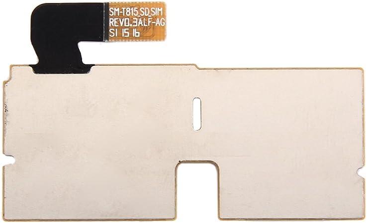 T815 Card Tray Accessories CHENNAN SIM /& Micro SD Card Reader Contact Flex Cable for Galaxy Tab S2 9.7