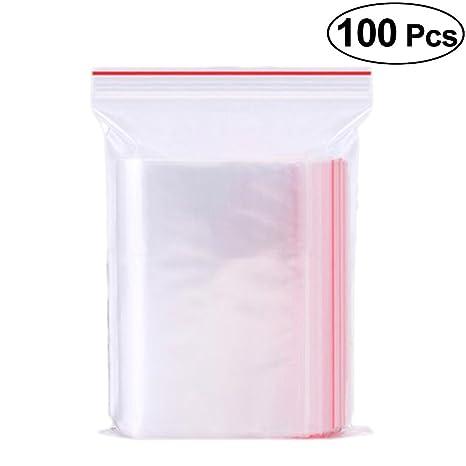 Vosarea Bolsas de Plástico con Cierre Resellables Bolsas de ...