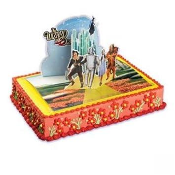Amazon Com Wizard Of Oz Cake Kit Childrens Cake Decorations