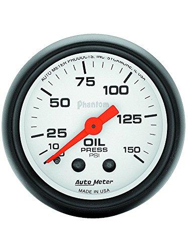 Autometer 5723 2'' OIL PRESS, 0-150 PSI, MECH, PHANTOM