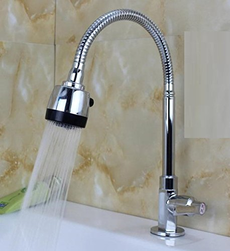 LLPXCC Faucet The toilet bathroom kitchen domestic washing the face wash basins stainless steel laundry redate Pool8