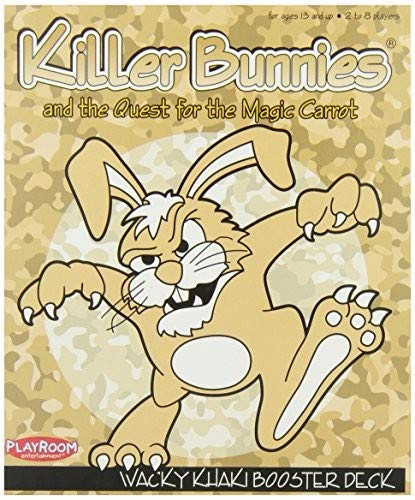 Playroom Entertainment Killer Bunnies Card Game Khaki Booster Pack PLE48100