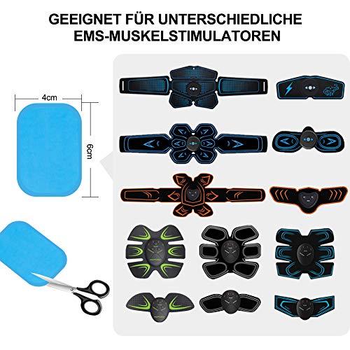 Rirgi Ems Gel Pad 2Er Set 30 Beutel Hydrogelpad Wiederverwendbar Für Ems Muskel