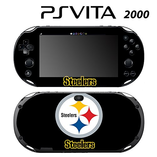 Skin Decal Cover Sticker for Sony PlayStation PS Vita Slim (PCH-2000) - Steelers -  Decals Plus